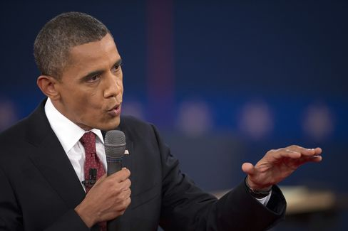 Obama on Offense in Debate Attacking Romney on Economy, Libya