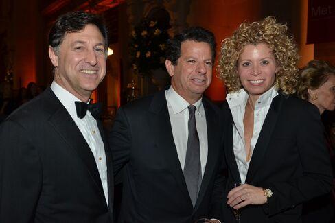 Blair Effron, Gary Ginsberg and Laurel Britton
