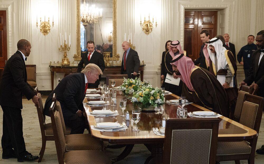 Trump and Kushner Put Saudi's Money First