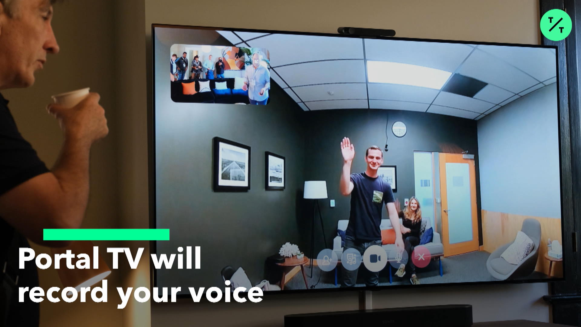 Portal TV Will Record Your Voice