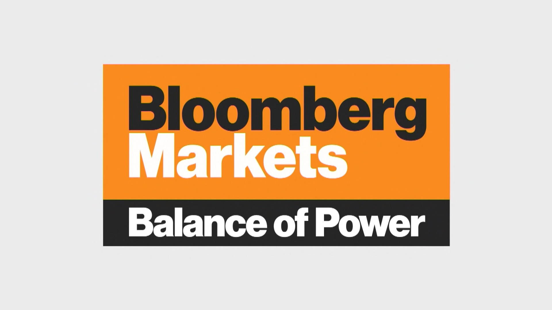 Bloomberg Markets: Balance of Power (12/29)