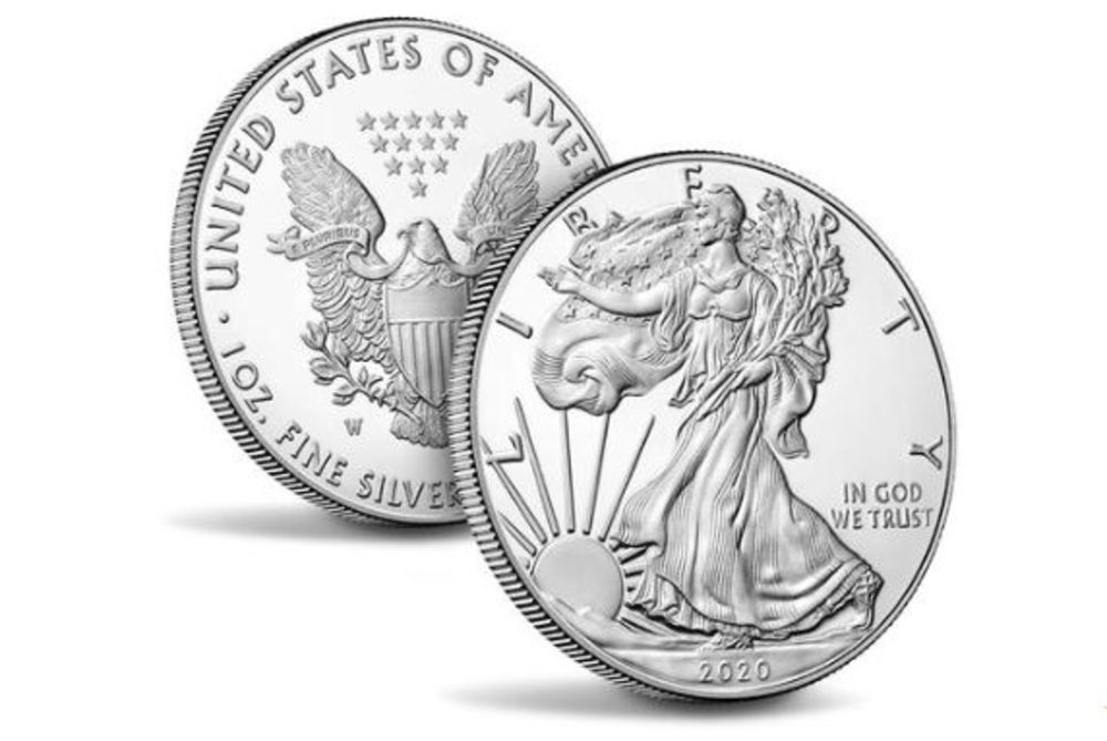 American Eagle 2020 One Ounce Silver Proof Coin.