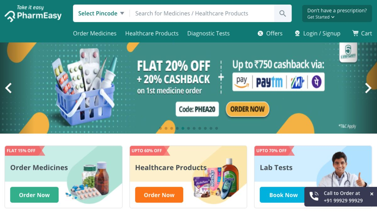 SoftBank in Talks to Invest in India's Online Pharmacy