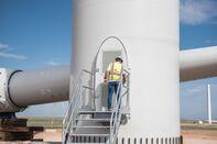 Construction At The Avangrid Renewables La Joya Wind Farm