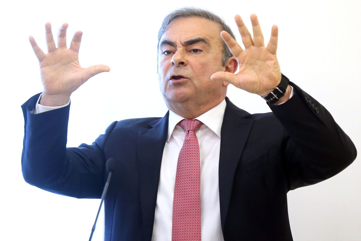 Lebanon Pressed Ghosn Not To Accuse Specific Japanese Officials