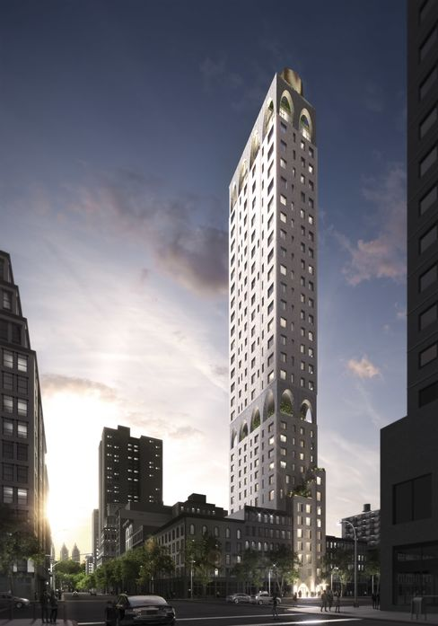 The exterior of 180 East 88th Street.