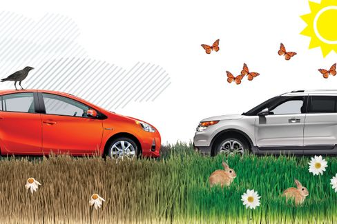 Hybrids' Unlikely Rival: Plain Old Cars