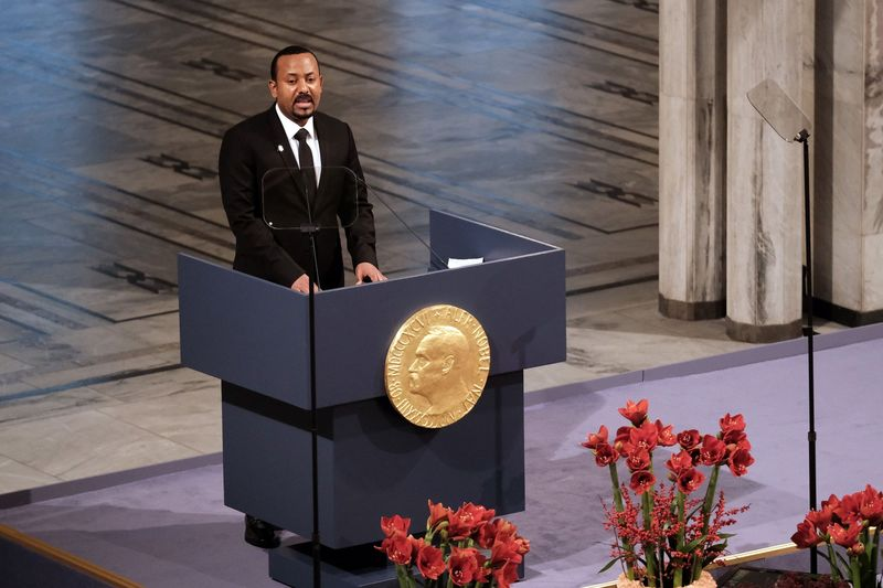 Nobel Peace Prize Award Ceremony 2019
