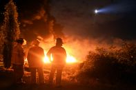 TOPSHOT-MEXICO-OIL-FIRE-DISASTER