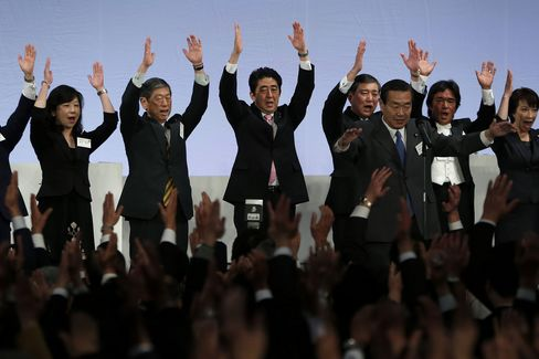 Japan's Ruling Liberal Democratic Party Holds Annual Convention