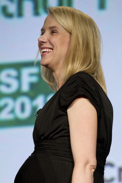 Yahoo CEO Mayer Gives Birth to Boy After Taking Web Portal Helm