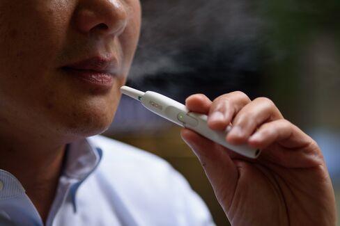 PMIの加熱式たばこ、アイコス