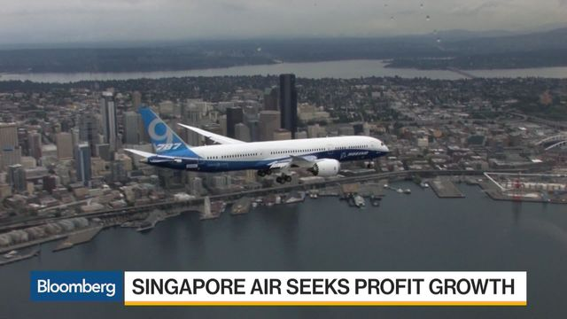 Boeing wins $13.8B Singapore Air order
