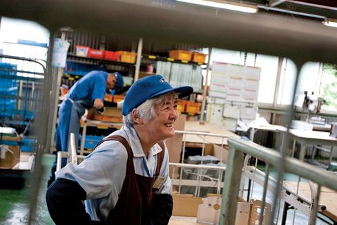In Japan, Retirees Go On Working