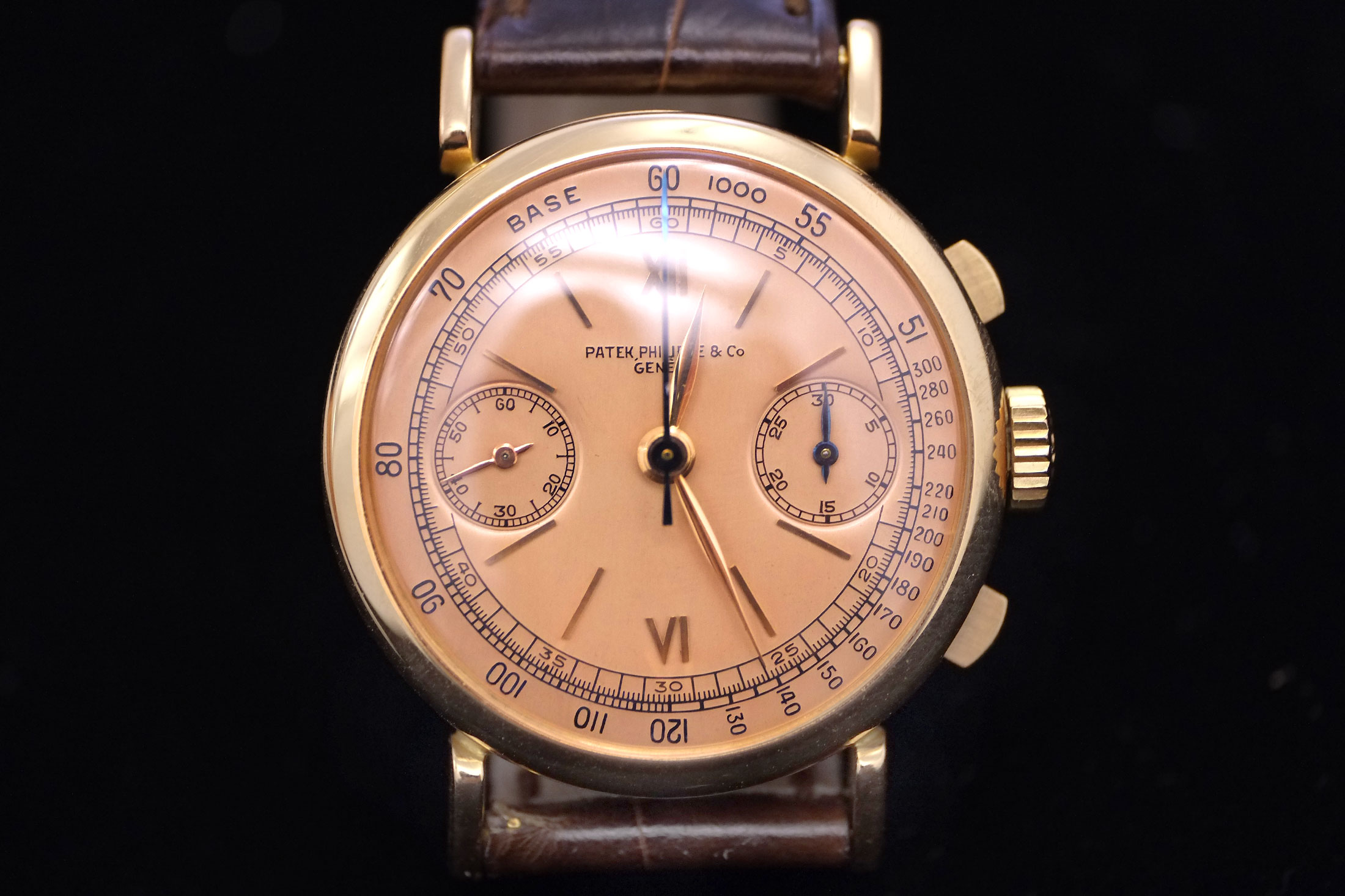 Patek Philippe Pink-On-Pink Chronograph (Lot 187)