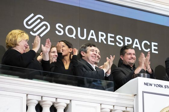 Squarespace Falls 9.1% in Debut in a Direct Listing First