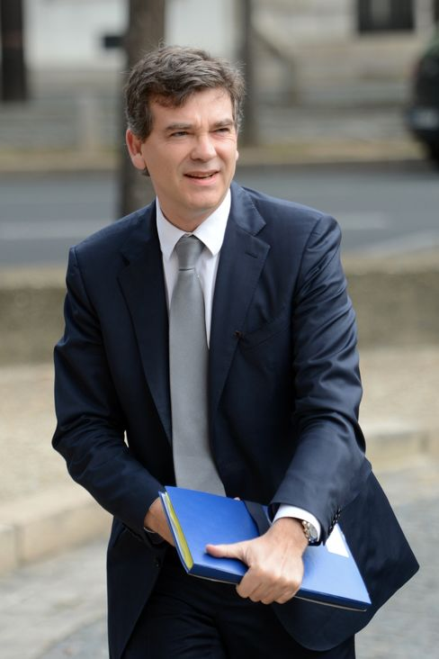Industry Minister Arnaud Montebourg