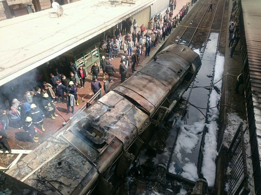 Peachy Egypt Vows To Punish Negligence As Cairo Train Crash Kills Home Remodeling Inspirations Gresiscottssportslandcom