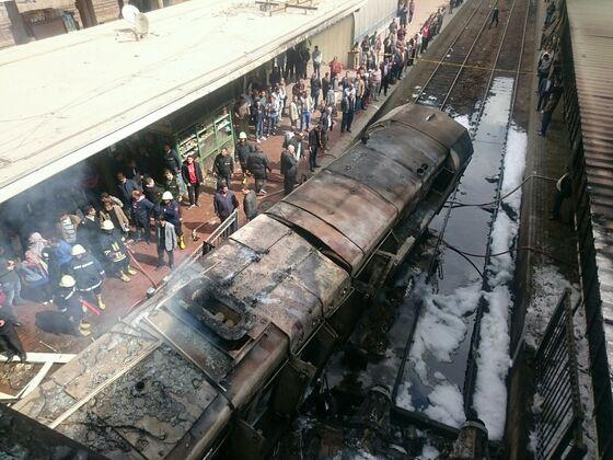 Egypt Vows to Punish Negligence as Cairo Train Crash Kills 20