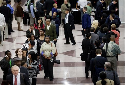 Payrolls in U.S. Rose 80,000 in June; Jobless Rate at 8.2%