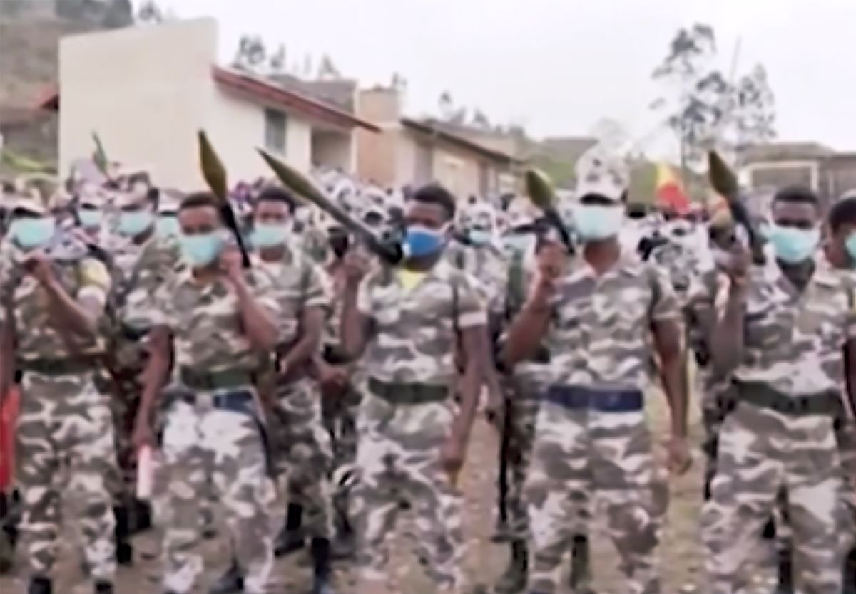 Ethiopian Forces Plan Final Offensive in Dissident Region