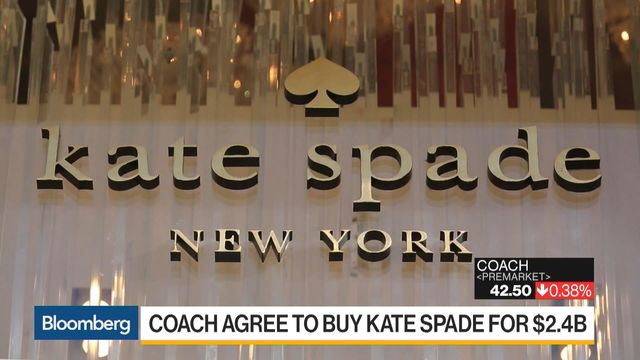 a373b0da5865 Coach Agrees to Buy Kate Spade for  2.4 Billion - Bloomberg