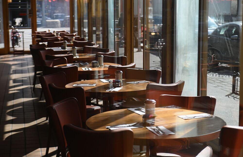 Image result for image, photo, empty restaurants