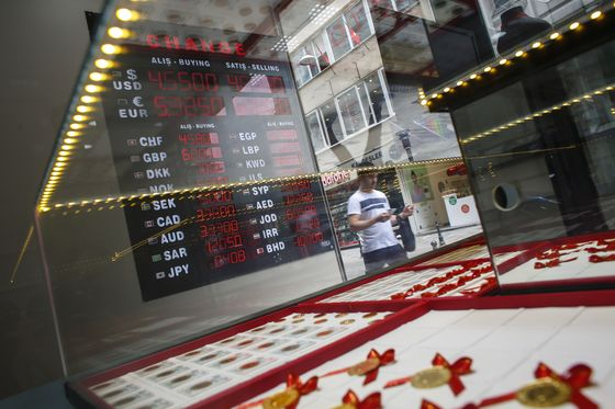 Turkish Lira's Gains Fizzle Out as Focus Shifts to Policy