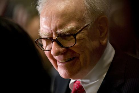 Berkshire Hathaway Inc. Chairman and CEO Warren Buffett