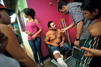 Capriles has gotten jubilant receptions during visits in poor neighborhoods across the country