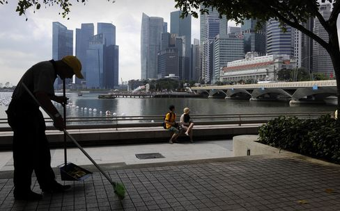 General Views Of Singapore Economy Ahead Of GDP Figures
