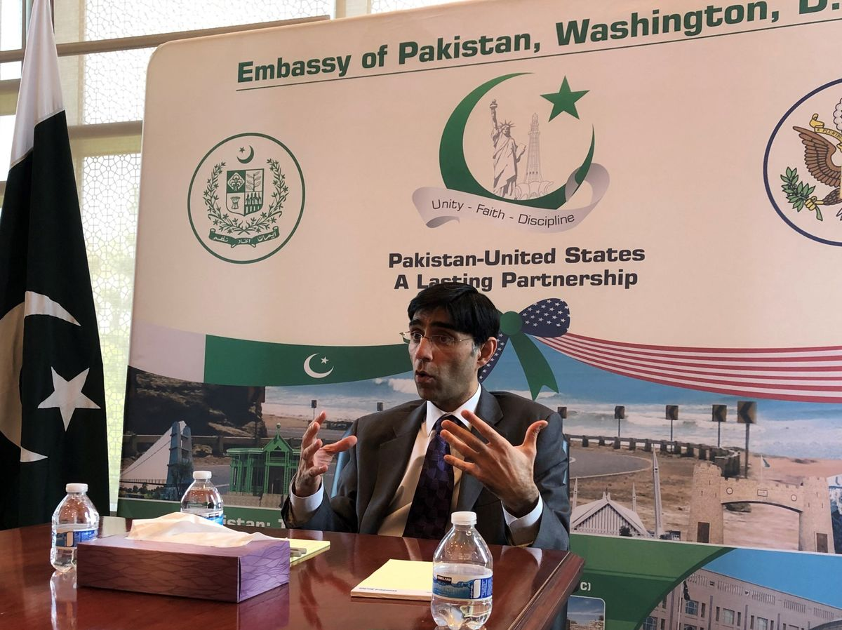 Pakistani Official Says Afghanistan Is Scapegoating His Country