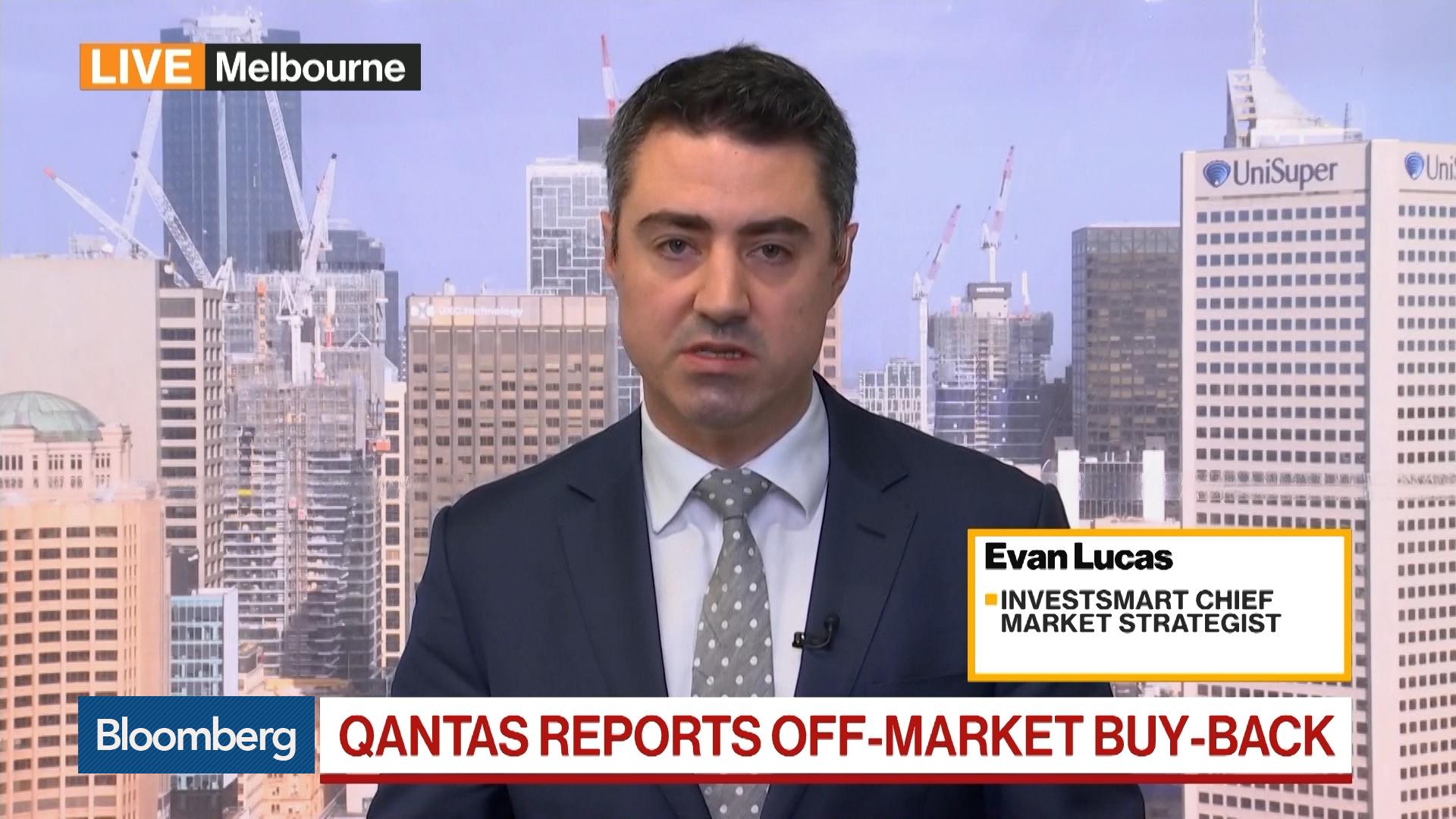 Evan Lucas, strategist at Investsmart, on Qantas Airways