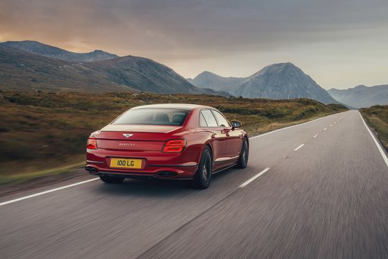 Bentley's 2021 Profits Already Exceed Those in Any Full Year