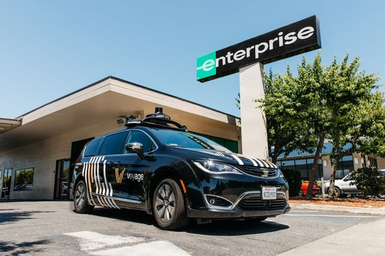 Enterprise Picks Up a Partner in First Driverless Car Foray