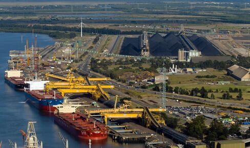 Newcastle Port
