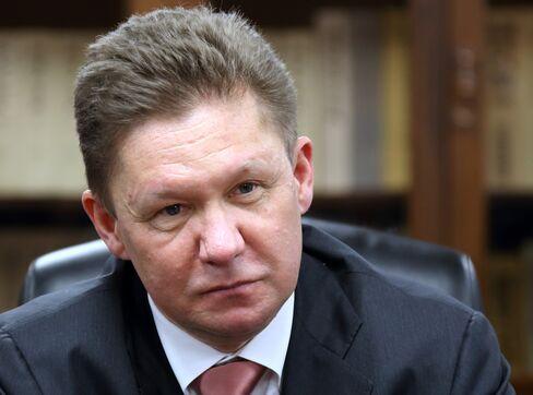 OAO Gazprom CEO Alexey Miller