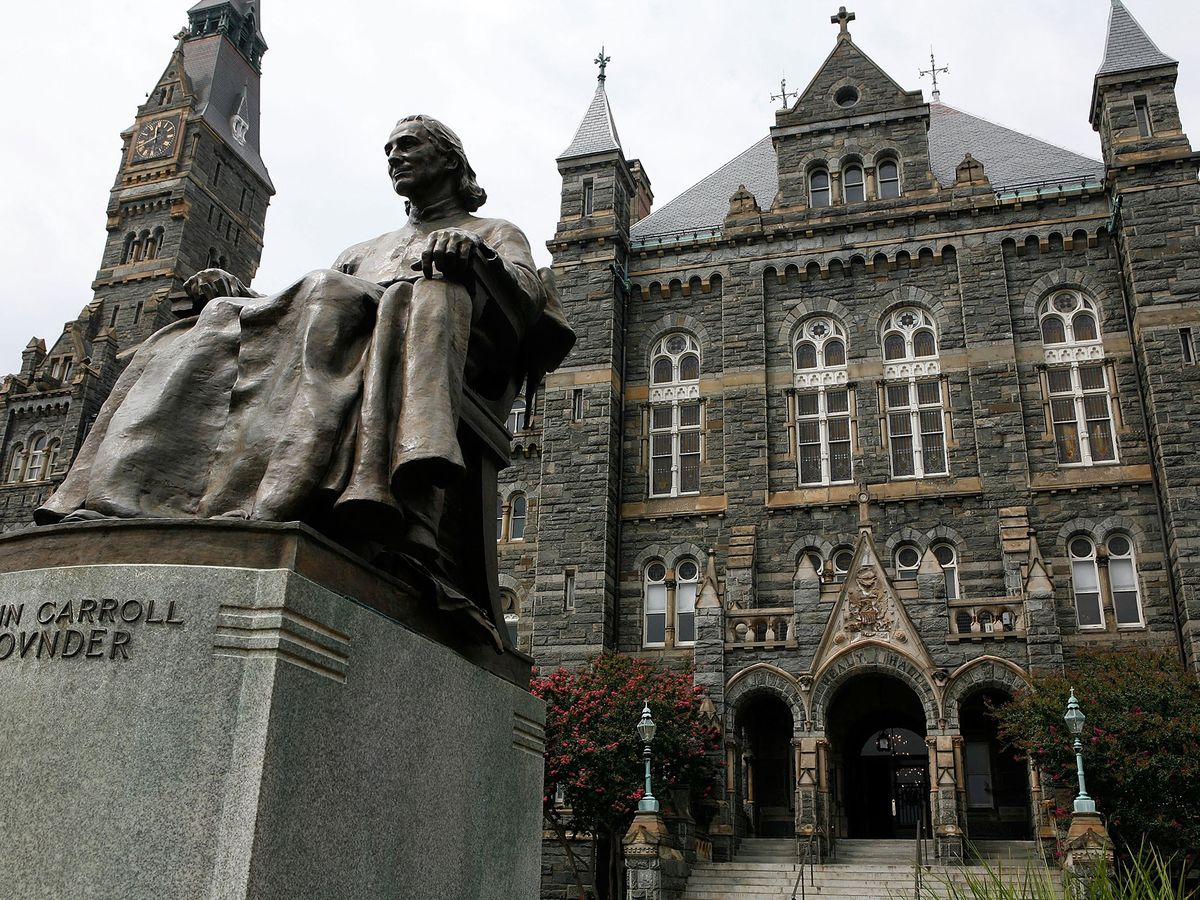Georgetown Student Who Sued College Over Scandal Drops Case