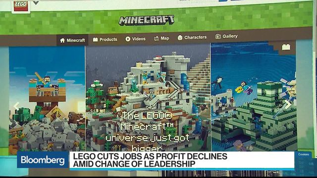 Lego Cuts 1,400 Jobs on Weak Sales of Batman Toys - Bloomberg