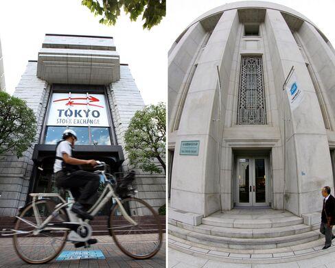 Japan Regulator Approves Merger of Nation's Biggest Bourses
