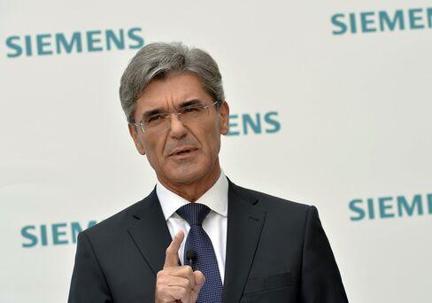Siemens AG CEO Joe Kaeser