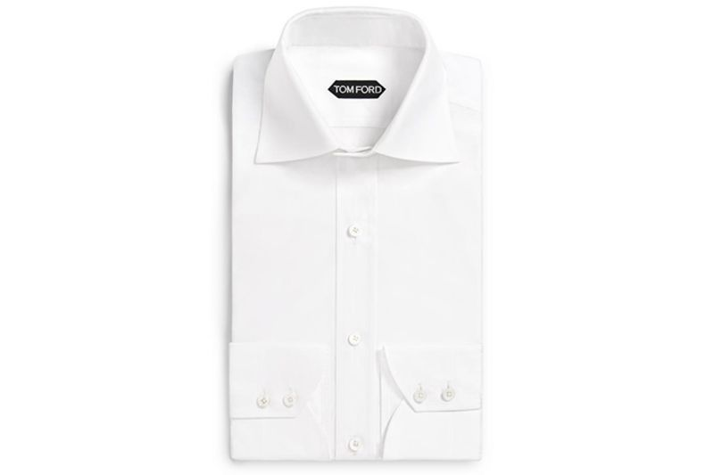 Mens white dress shirts seconds used