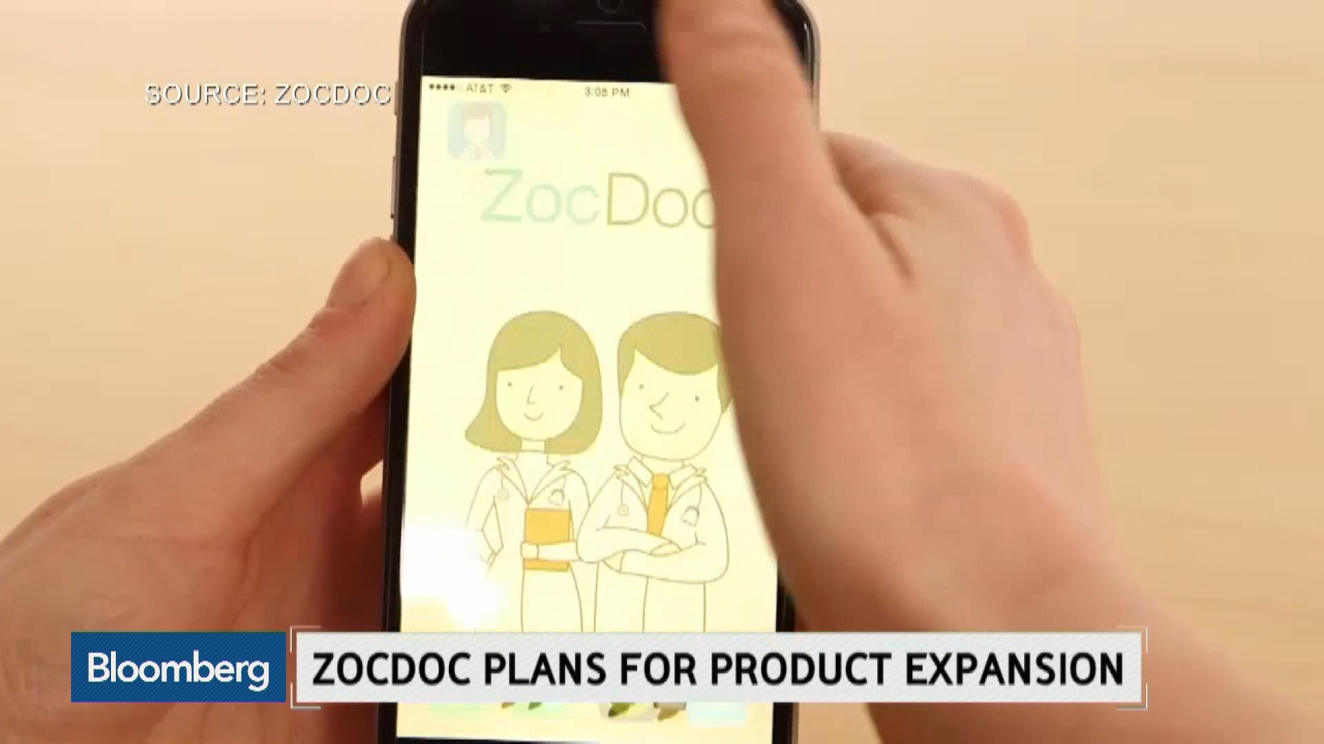 How ZocDoc Plans to Improve the Patient Experience – Bloomberg