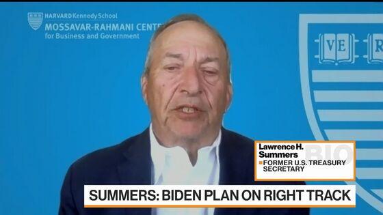 Summers Lauds Biden Infrastructure Plan After Attacking Stimulus