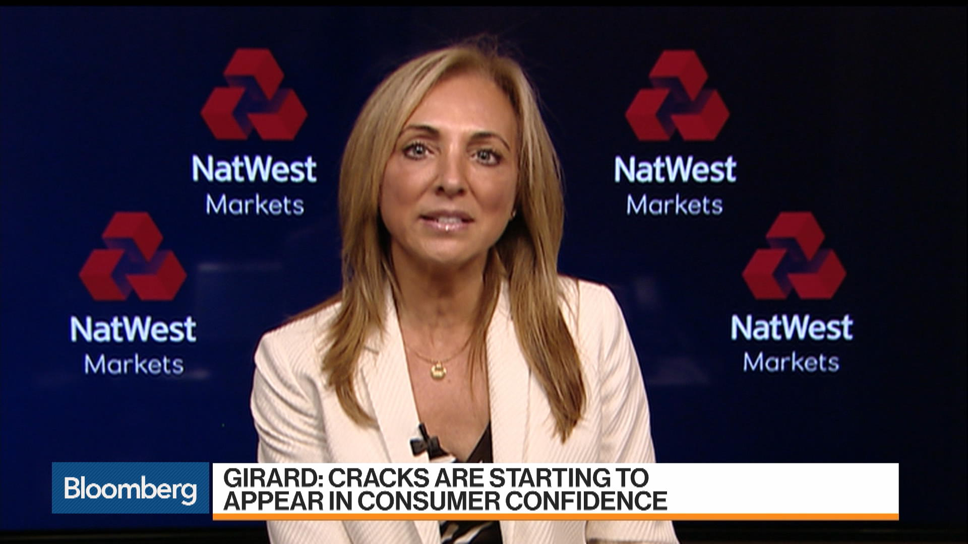 NatWest Markets' Girard Sees Loss of Consumer Confidence as Biggest Risk to U.S. Economy