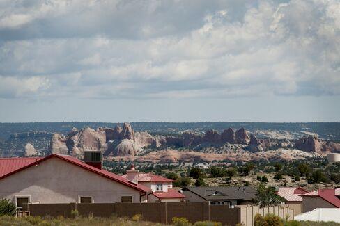 The Navajo Nation in Window Rock, Arizona