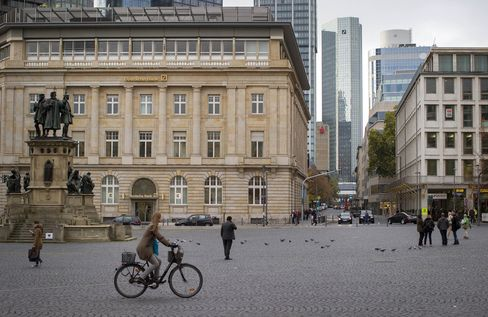 Deutsche Bank AG Headquarters As Lender To Shrink Workforce By About 26,000