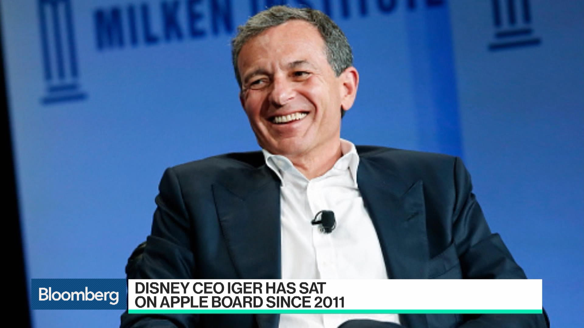 Apple's Video Plans Put Bob Iger's Board Seat at Risk