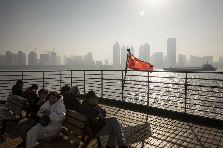 General Economy In Wuhan As Economists Boost China Outlook on Trade Deal