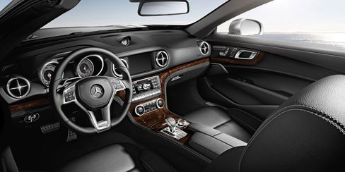 The interior of the car feels spacious and comfortable--as long as you don't want a back seat.